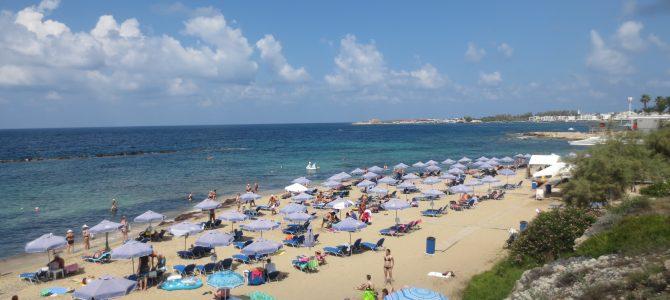 Strandok Pafosz környékén