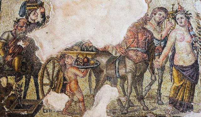 Mozaikok a Régészeti Parkban