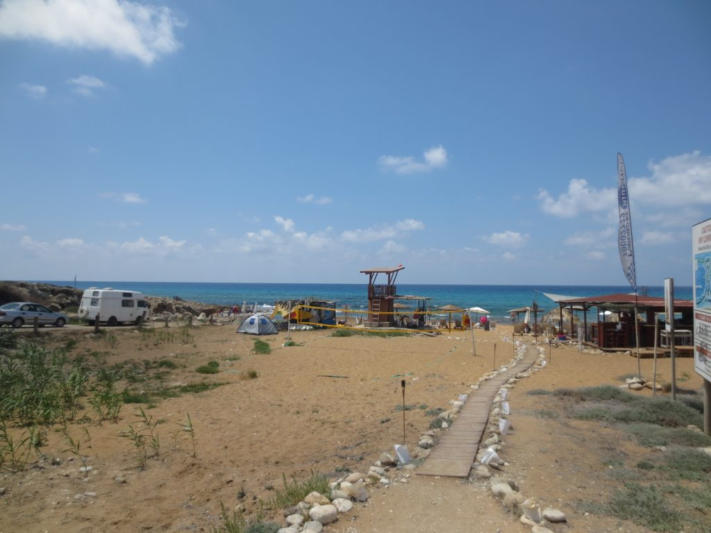 Kotsias Beach - Lemba - Sandy Beach